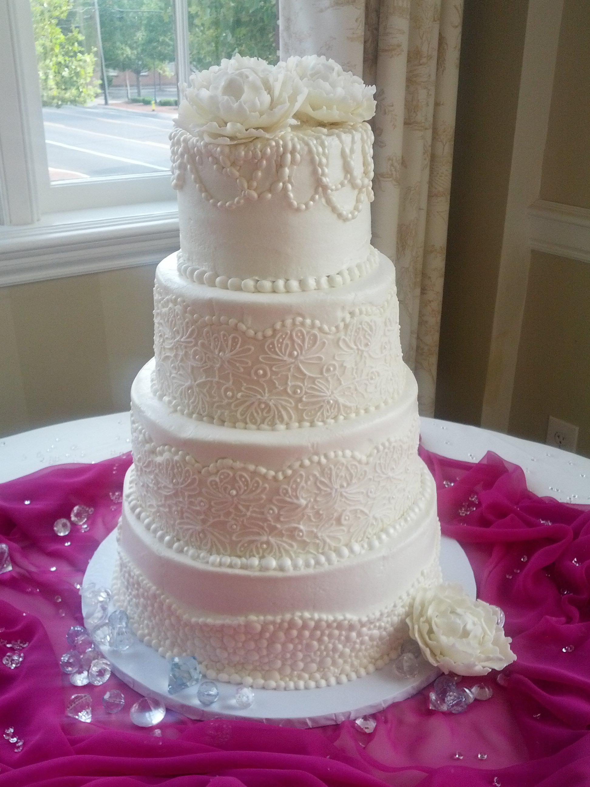 Weddings Sugardust Cookies Cake